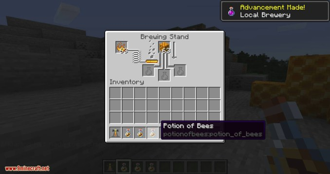 Potion of Bees mod for minecraft 05