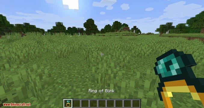 Ring of Blink mod for minecraft 01