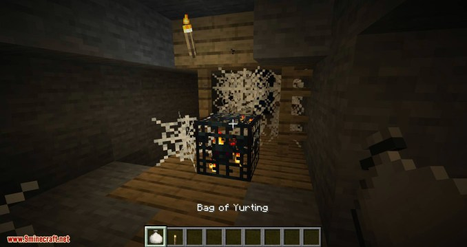 Bag of Yurting mod for minecraft 04