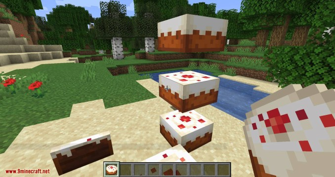 Cake Chomps mod for minecraft 09