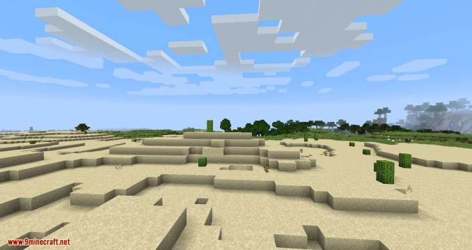Clear Skies mod for minecraft 01