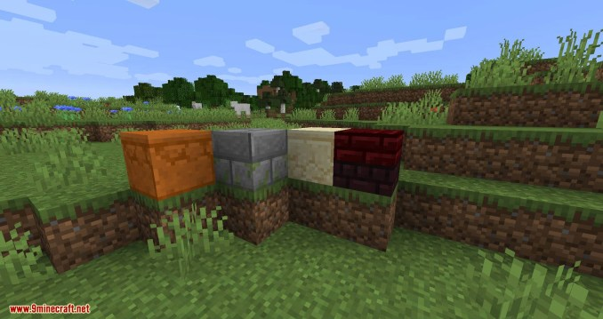 Double Slabs mod for minecraft 09