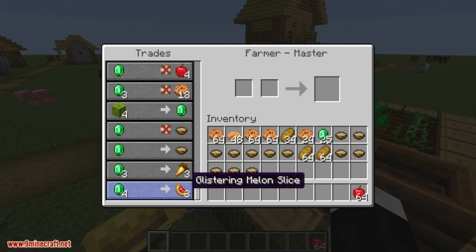 EasierVillagerTrading mod for minecraft 10