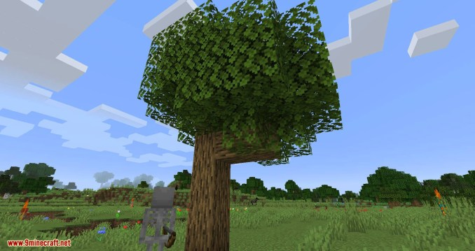 Falling Tree mod for minecraft 01