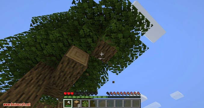 Falling Tree mod for minecraft 05