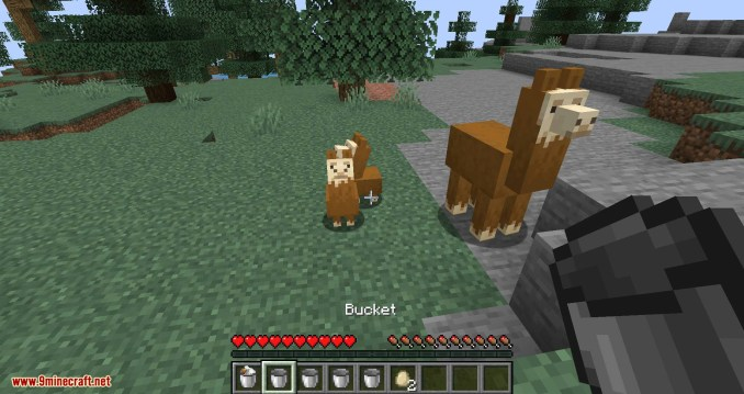 Get in the Bucket mod for minecraft 02