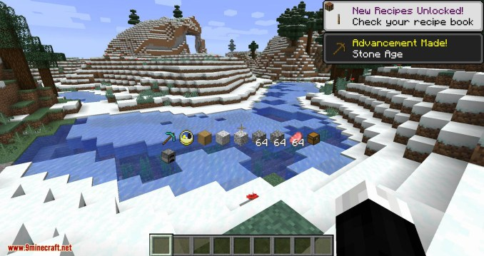 Inventory HUD+ mod for minecraft 03