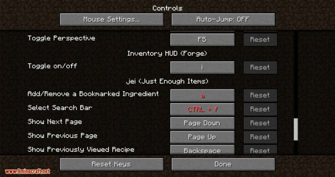 Inventory HUD+ mod for minecraft 05