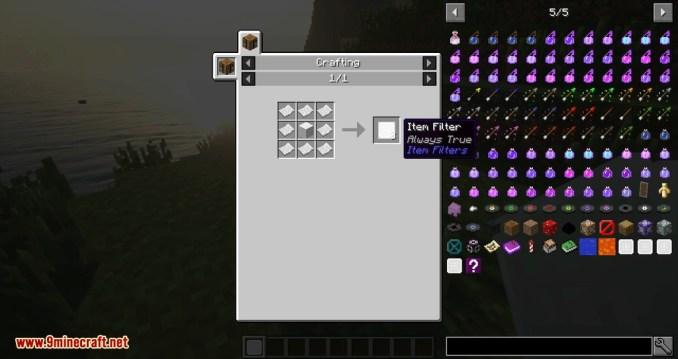 Item Filter mod for minecraft 05