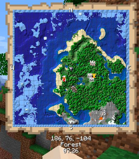 Just Map mod for minecraft 24