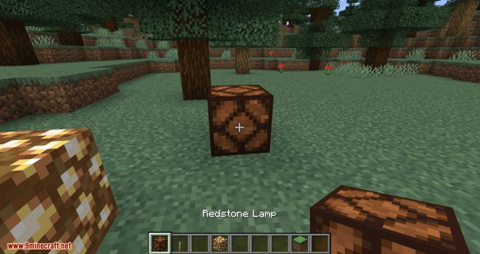 Lamp Block mod for minecraft 02