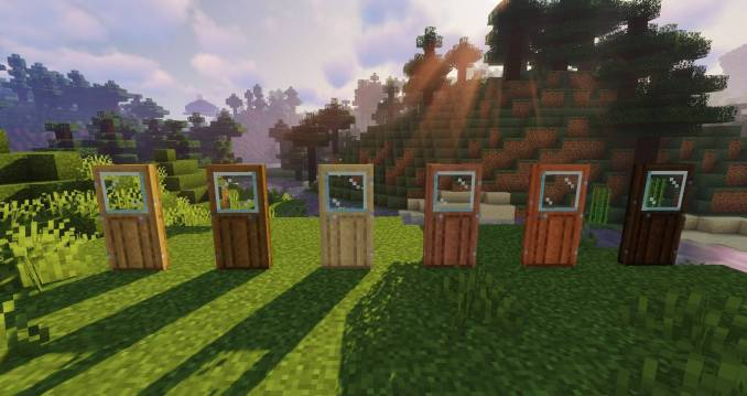 Macaw_s Doors mod for minecraft 26