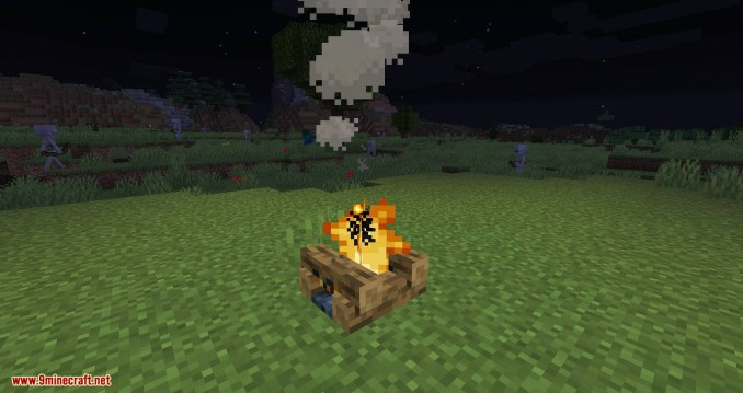 No Hostiles Around Campfire mod for minecraft 04