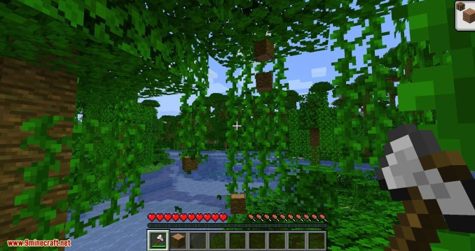 pizzaatime_s Timber Mod for minecraft 03
