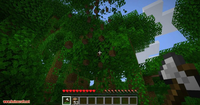 pizzaatime_s Timber Mod for minecraft 08
