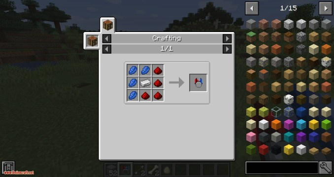 Ring of Attraction mod for minecraft 06