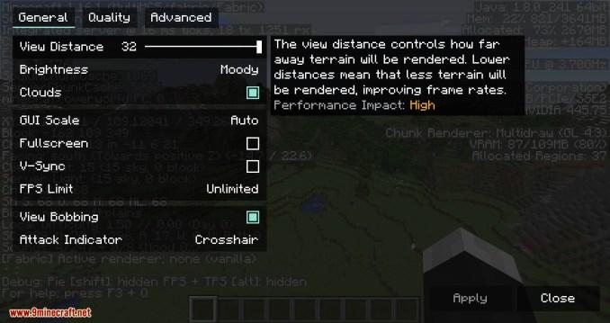 Sodium mod for minecraft 10
