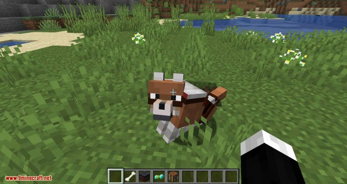 Wolves with armor mod for minecraft 07