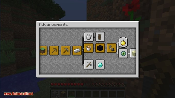 Better Advancements Mod Screenshots 2