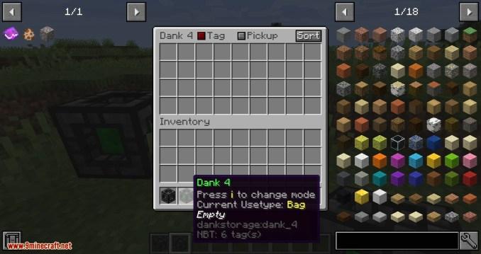 Dank Storage mod for minecraft 06