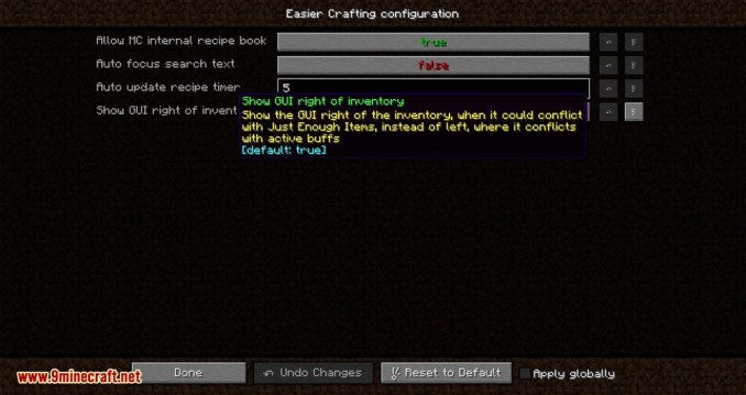 Easier Crafting mod for minecraft 11