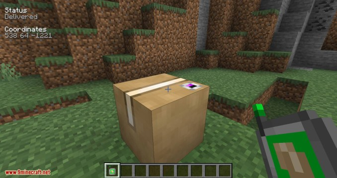 Ender Mail mod for minecraft 10