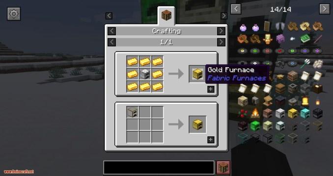 Fabric Furnace mod for minecraft 05