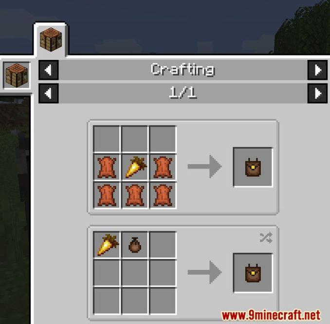 Food Pouches Mod Screenshots 10