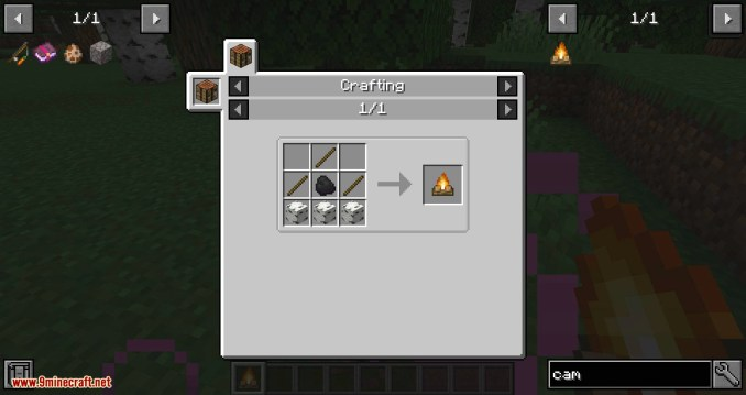 Healing Campfire mod for minecraft 05