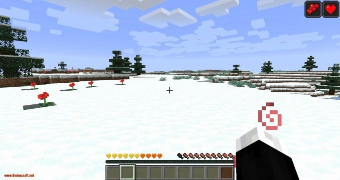Health Overlay mod for minecraft 06