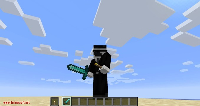 Hide Hands mod for minecraft 02