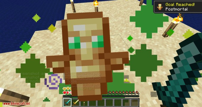 Hide Hands mod for minecraft 13