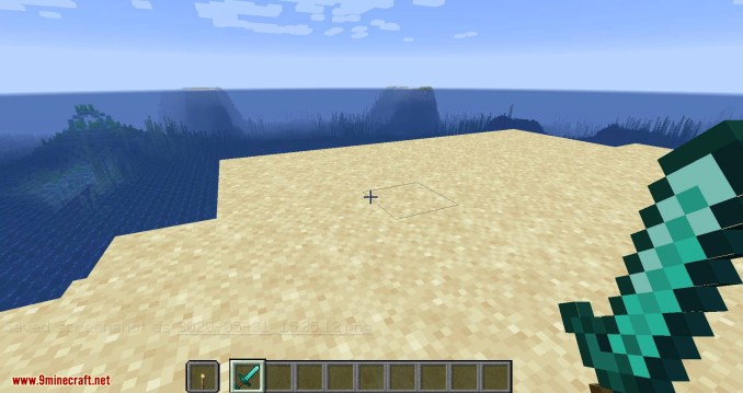 Hide Hands mod for minecraft 03