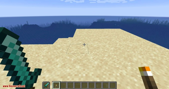 Hide Hands mod for minecraft 04
