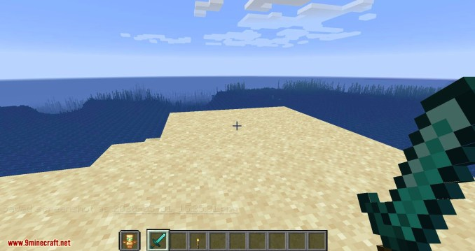 Hide Hands mod for minecraft 06