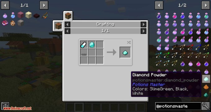 Potions Master mod for minecraft 06