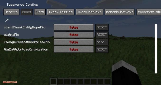 Tweakeroo mod for minecraft 03