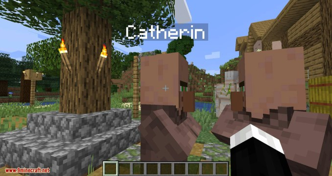 Villager Names mod for minecraft 03