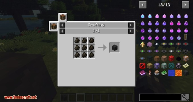 A Block of Charcoal Mod Crafting Recipes 1