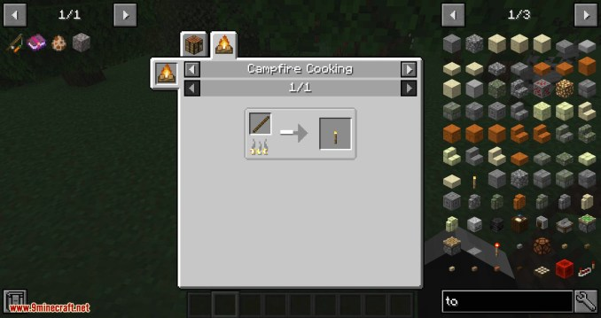 Campfire Torches mod for minecraft 05