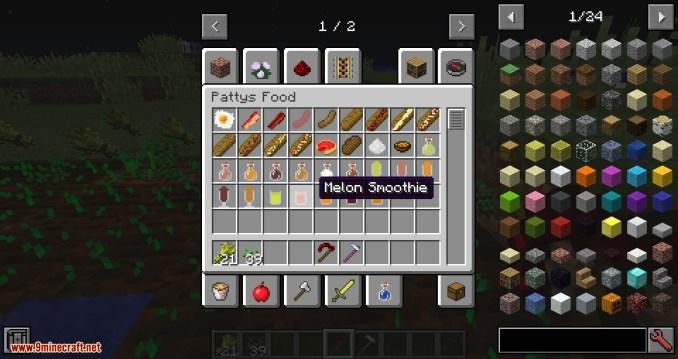 PattysMoreStuff mod for minecraft 13
