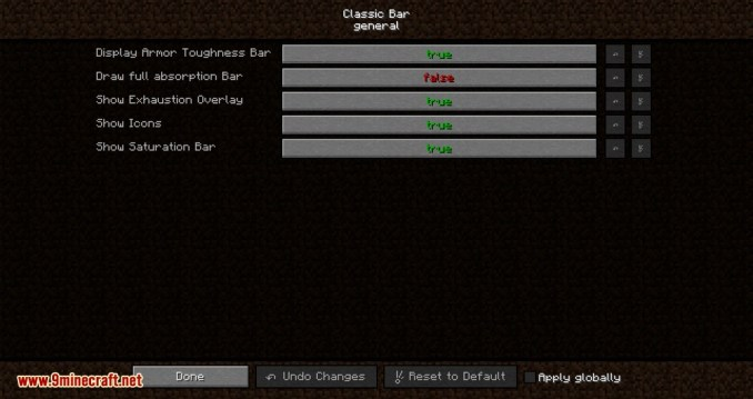 Classic Bars mod for minecraft 02