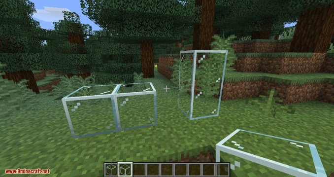 Connected Glass mod for minecraft 05