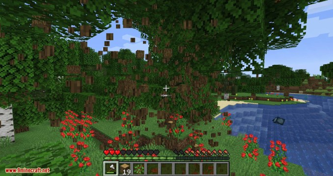 Falling Tree mod for minecraft 10