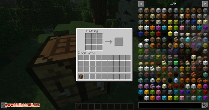 Fast Workbench mod for minecraft 02