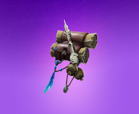 Fortnite Spellbinder Back Bling - Full list of cosmetics : Fortnite Arcane Arts Set | Fortnite skins.