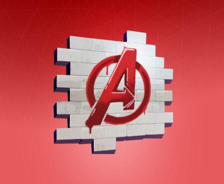Fortnite Avengers Logo Spray - Full list of cosmetics : Fortnite Avengers Set   Fortnite skins.