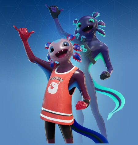 Fortnite Axo Skin - Full list of cosmetics : Fortnite Axolotl Attack! Set | Fortnite skins.