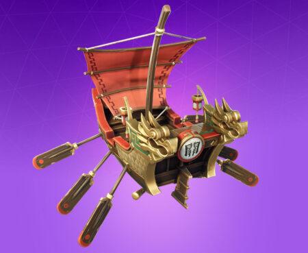 Fortnite Divine Dragon Glider - Full list of cosmetics : Fortnite Guan Yu Set | Fortnite skins.