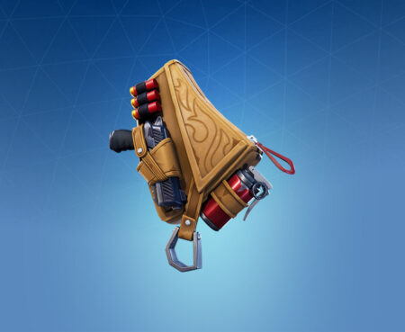 Fortnite Leather Lugger Back Bling - Full list of cosmetics : Fortnite Wild Frontier Set | Fortnite skins.